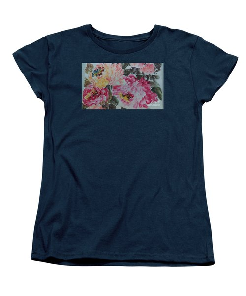 Peoney20161229_10 Women's T-Shirt (Standard Cut) by Dongling Sun