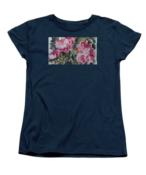 Peoney20161229_6 Women's T-Shirt (Standard Cut) by Dongling Sun