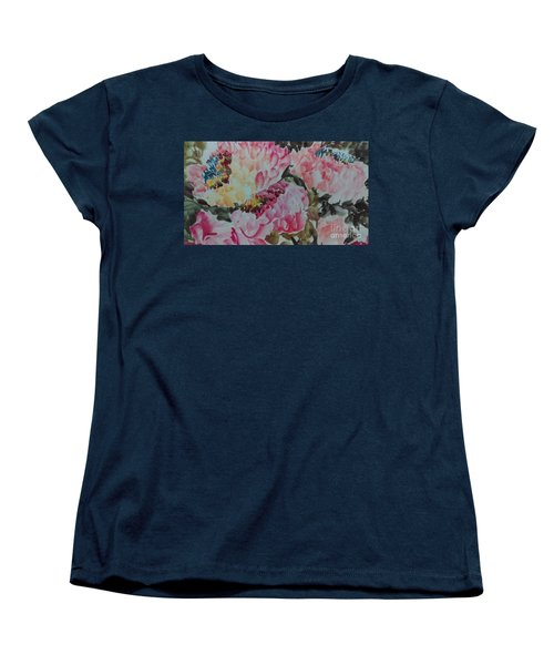 Peoney20161229_9 Women's T-Shirt (Standard Cut) by Dongling Sun