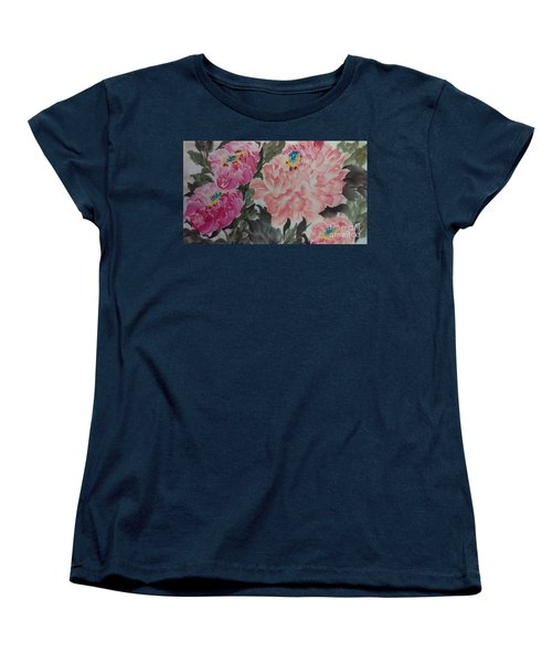 Peoney20161230_622 Women's T-Shirt (Standard Cut) by Dongling Sun