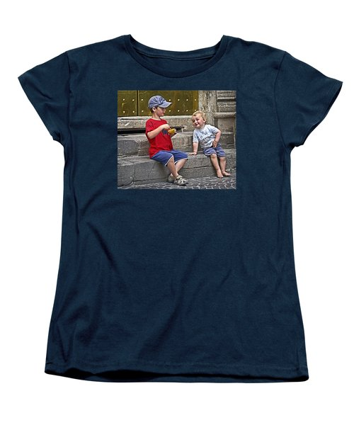 Per Favore Women's T-Shirt (Standard Cut) by Keith Armstrong