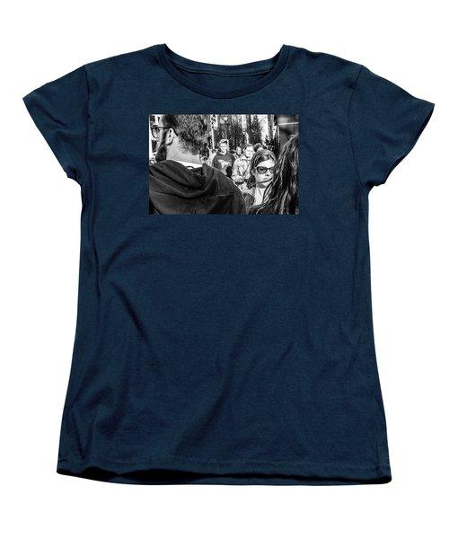 Women's T-Shirt (Standard Cut) featuring the photograph Percolate by David Sutton