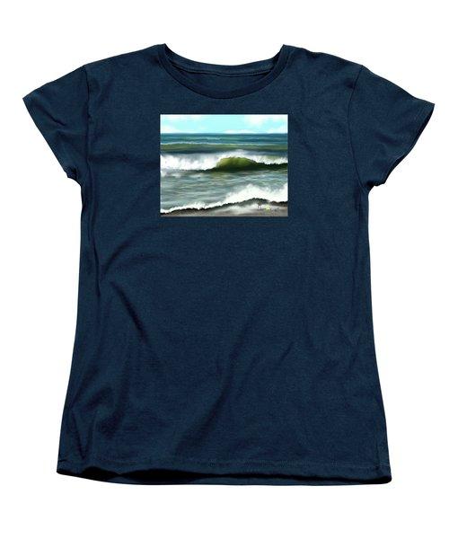 Perfect Day Women's T-Shirt (Standard Cut) by Dawn Harrell