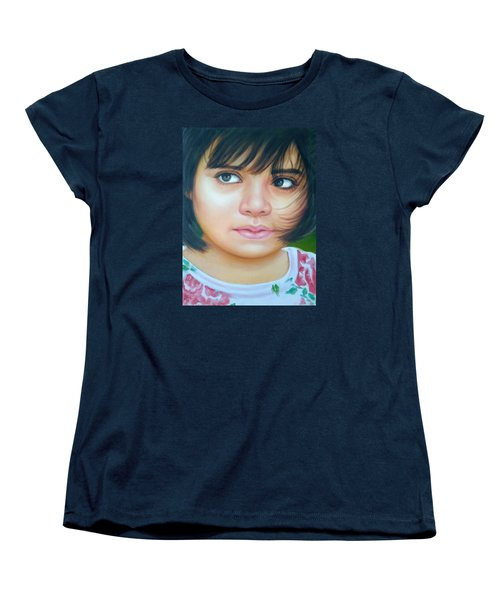 Perfect To Paint Women's T-Shirt (Standard Cut) by Khalid Saeed