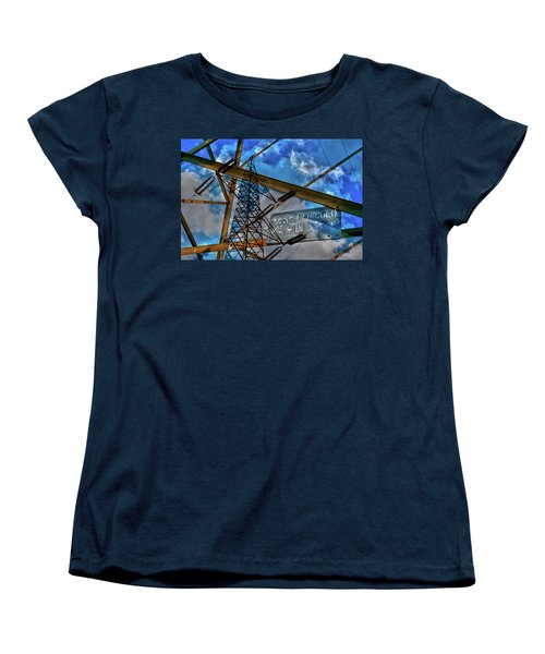 Women's T-Shirt (Standard Cut) featuring the photograph Pericolo Di Morte by Sonny Marcyan