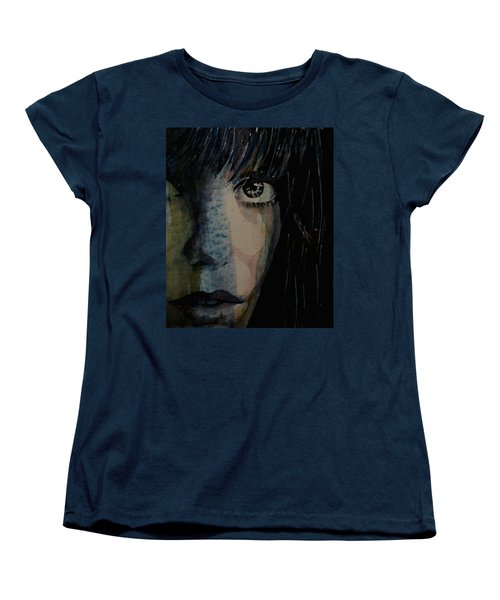 Women's T-Shirt (Standard Cut) featuring the painting Periode Bleue by Paul Lovering