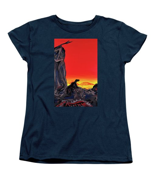 Permian Outpost Women's T-Shirt (Standard Cut) by Ryan Demaree