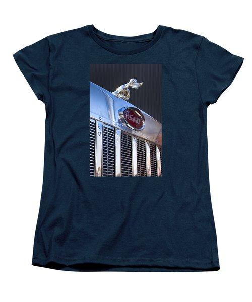 Peterbilt Angry Duck Women's T-Shirt (Standard Cut) by Theresa Tahara