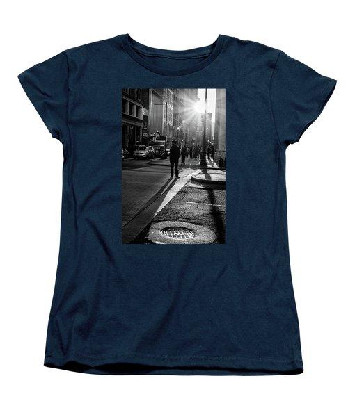 Women's T-Shirt (Standard Cut) featuring the photograph Philadelphia Street Photography - 0943 by David Sutton