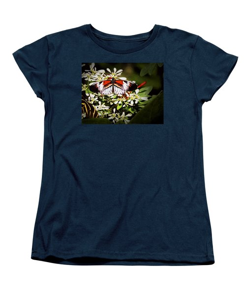 Piano Key 3 Women's T-Shirt (Standard Cut) by Penny Lisowski
