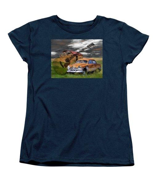 Pickin Out Yesterday Women's T-Shirt (Standard Cut) by Susan Kinney