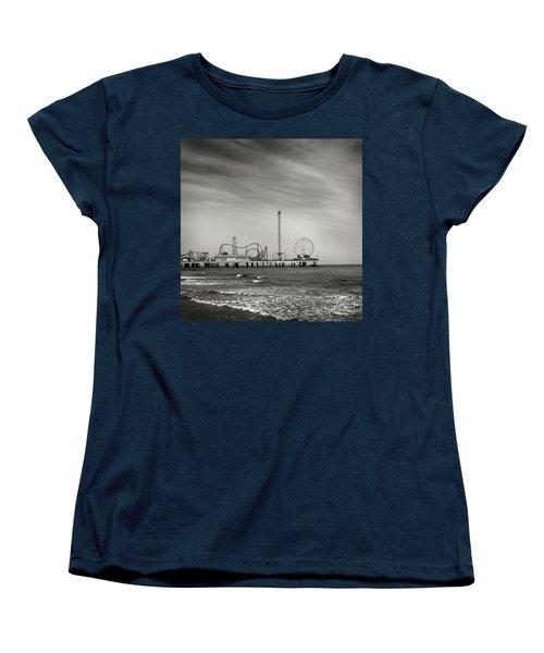Pier 2 Women's T-Shirt (Standard Cut) by Sebastian Mathews Szewczyk