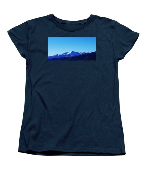Women's T-Shirt (Standard Cut) featuring the photograph Pikes Peak by Joseph Frank Baraba