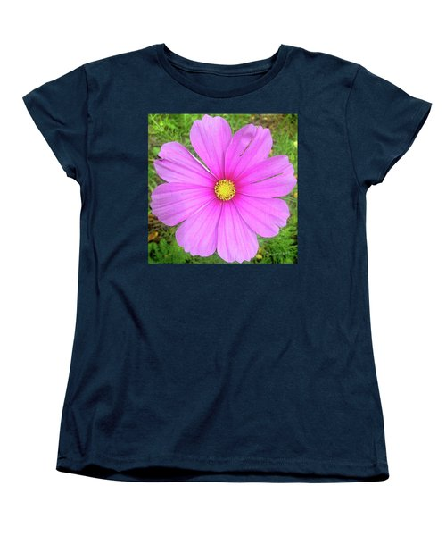 Pink Women's T-Shirt (Standard Cut) by Terri Harper