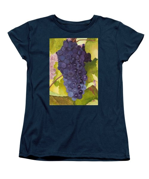Pinot Noir Ready For Harvest Women's T-Shirt (Standard Cut) by Mike Robles