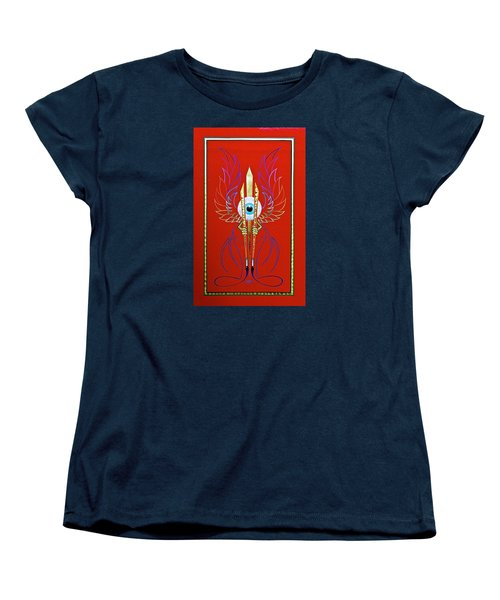 Pinstriper's Icon Women's T-Shirt (Standard Cut) by Alan Johnson