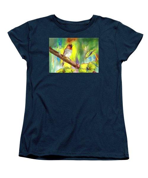 Pinzon Canella Women's T-Shirt (Standard Cut) by Janet Garcia