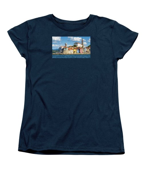 Piran Women's T-Shirt (Standard Cut) by Robert Krajnc