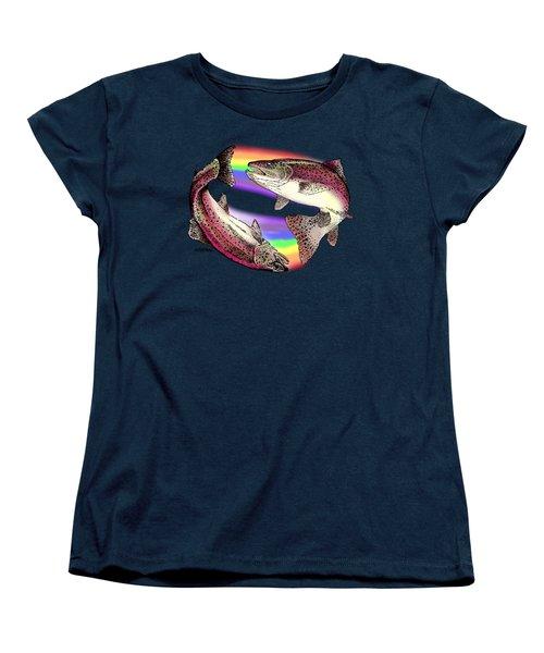 Pisces Artist Women's T-Shirt (Standard Cut) by Joseph Juvenal