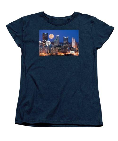 Pittsburgh 6 Women's T-Shirt (Standard Cut) by Emmanuel Panagiotakis