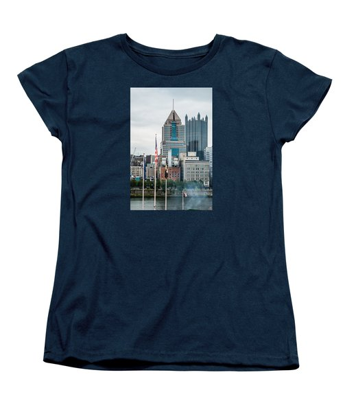 Pittsburgh - 6975 Women's T-Shirt (Standard Cut) by G L Sarti