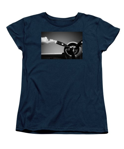 Plane Portrait 4 Women's T-Shirt (Standard Cut) by Ryan Weddle