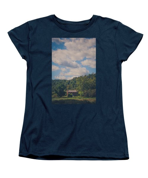 Women's T-Shirt (Standard Cut) featuring the photograph Plantation House by Shane Holsclaw