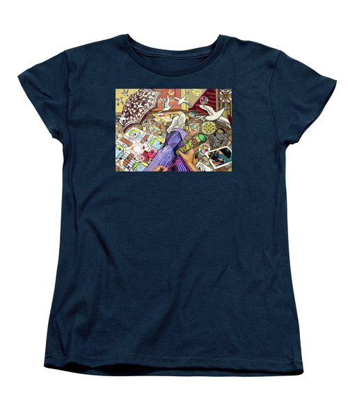 Play Women's T-Shirt (Standard Cut) by Bonnie Siracusa
