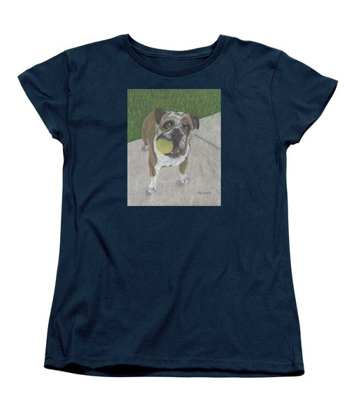 Play With Me Women's T-Shirt (Standard Cut) by Arlene Crafton