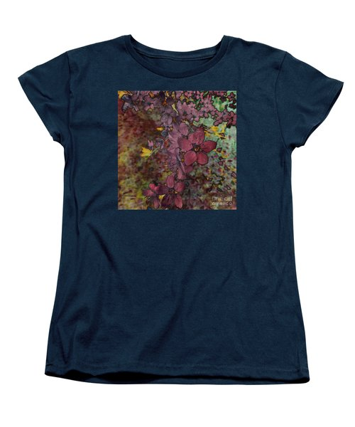 Women's T-Shirt (Standard Cut) featuring the photograph Plum Blossom by LemonArt Photography