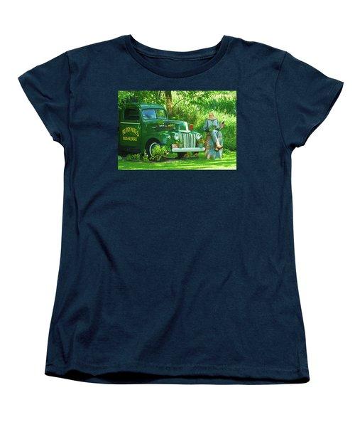 Po Boy Acres Women's T-Shirt (Standard Cut) by Trey Foerster