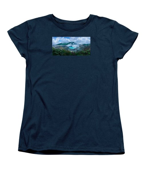 Women's T-Shirt (Standard Cut) featuring the photograph Poas Volcano, Costa Rica by RC Pics