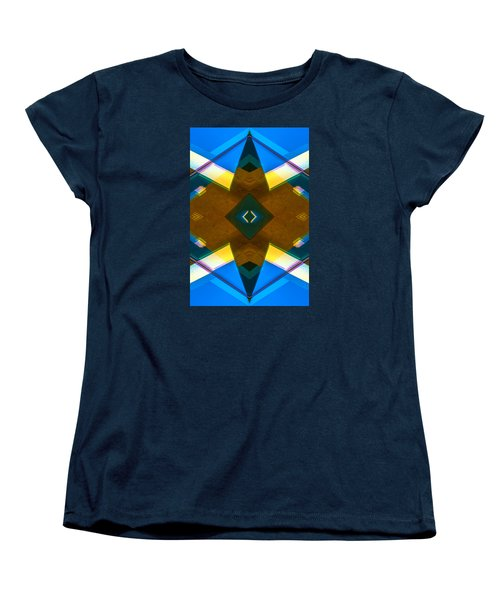 Poetry Foundation Library N86 V2 Women's T-Shirt (Standard Cut) by Raymond Kunst