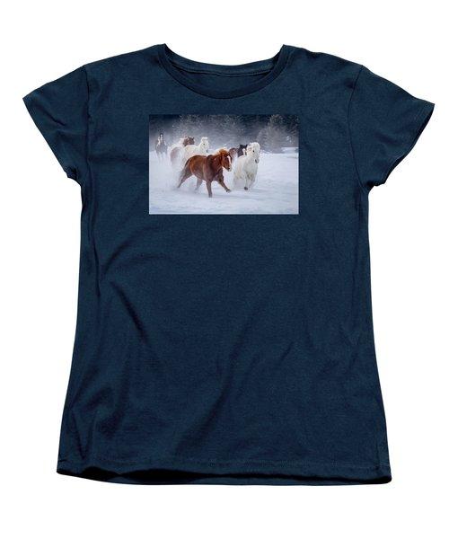 Poetry In Motion Women's T-Shirt (Standard Cut) by Jack Bell