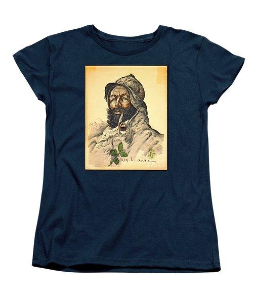 Poilu 1916 Women's T-Shirt (Standard Cut) by Padre Art