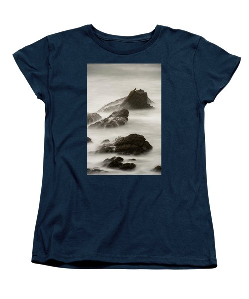 Women's T-Shirt (Standard Cut) featuring the photograph Point Arena  by Dustin LeFevre