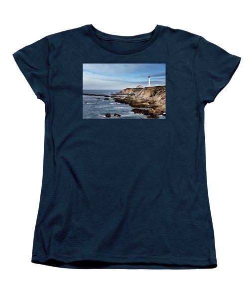 Point Arena Light Women's T-Shirt (Standard Cut)