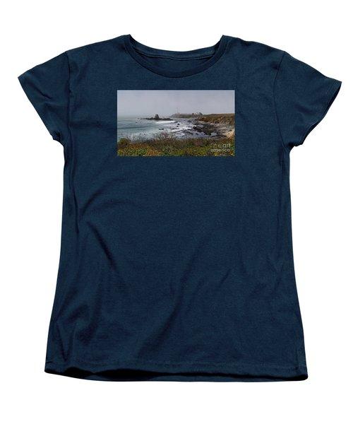 Women's T-Shirt (Standard Cut) featuring the photograph Point Montara Lighthouse by David Bearden