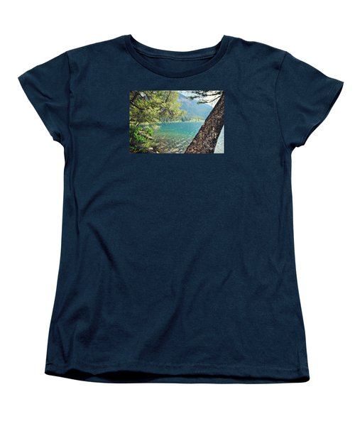 Women's T-Shirt (Standard Cut) featuring the photograph Point Of Interest by Janie Johnson