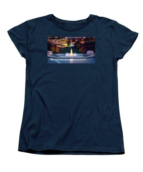 Point State Park  Women's T-Shirt (Standard Cut) by Mihai Andritoiu