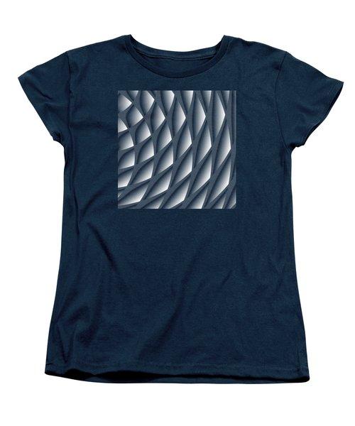 Points Abstract Colour Choice Women's T-Shirt (Standard Cut) by Barbara Moignard