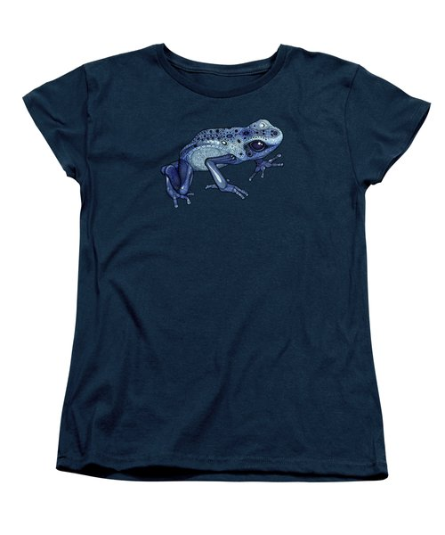 Poison Dart Frog Women's T-Shirt (Standard Cut) by ZH Field