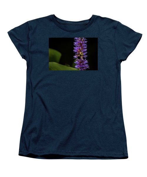 Women's T-Shirt (Standard Cut) featuring the photograph Pollen Collector 3 by Jay Stockhaus