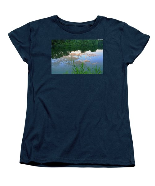 Pondering Women's T-Shirt (Standard Cut) by Angelo Marcialis