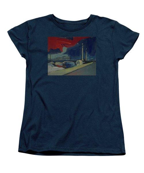 Pont Fragnee In Liege Women's T-Shirt (Standard Fit)