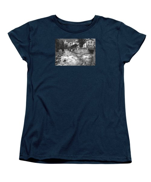 Ponte Di Legno  Women's T-Shirt (Standard Cut) by Cesare Bargiggia