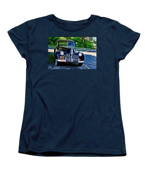 Women's T-Shirt (Standard Cut) featuring the photograph Pontiac 1940 by Joan Bertucci