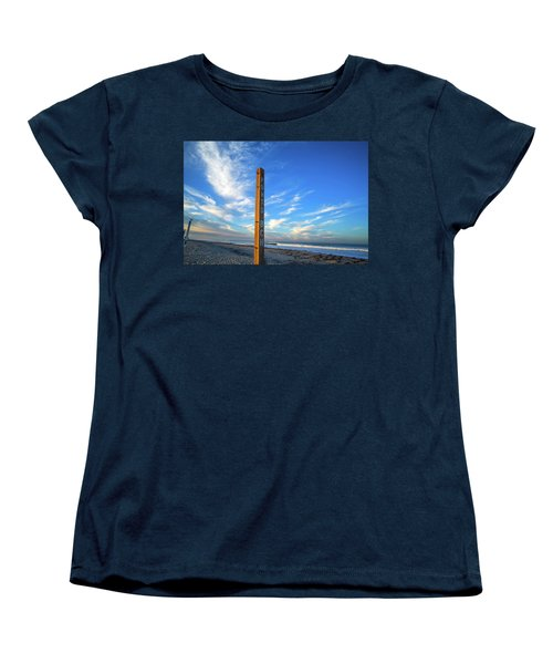 Ponto Beach Women's T-Shirt (Standard Cut) by Joseph S Giacalone