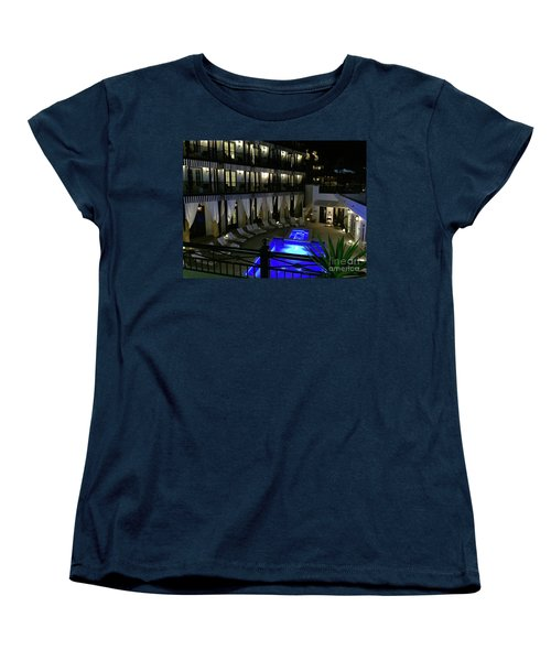 Poolside At The Pearl Women's T-Shirt (Standard Fit)