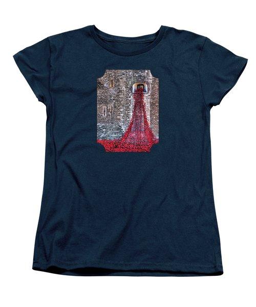Poppy Cascade Women's T-Shirt (Standard Cut)